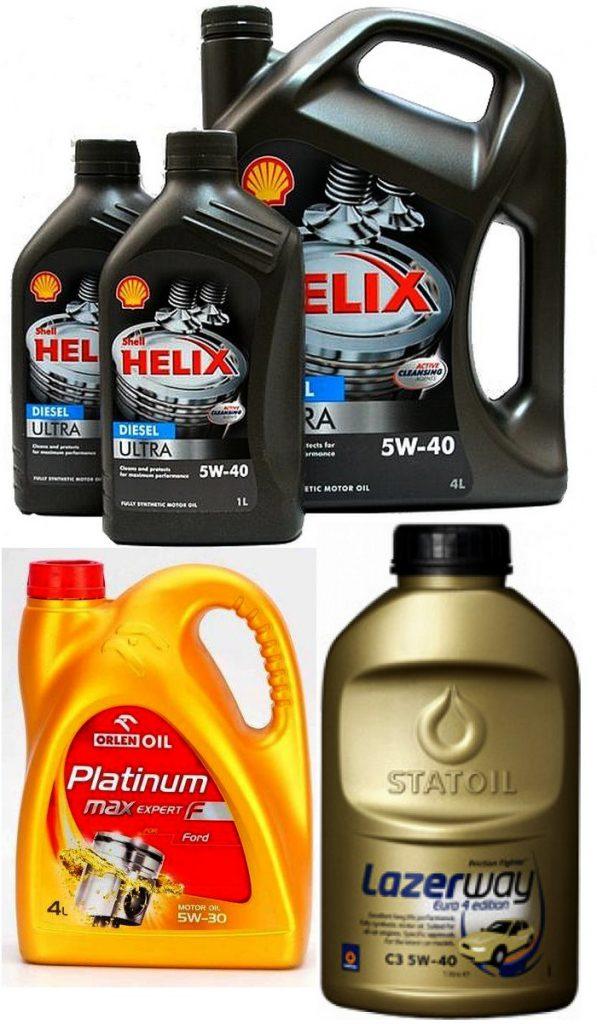 Oleje silnikowe syntetyczne